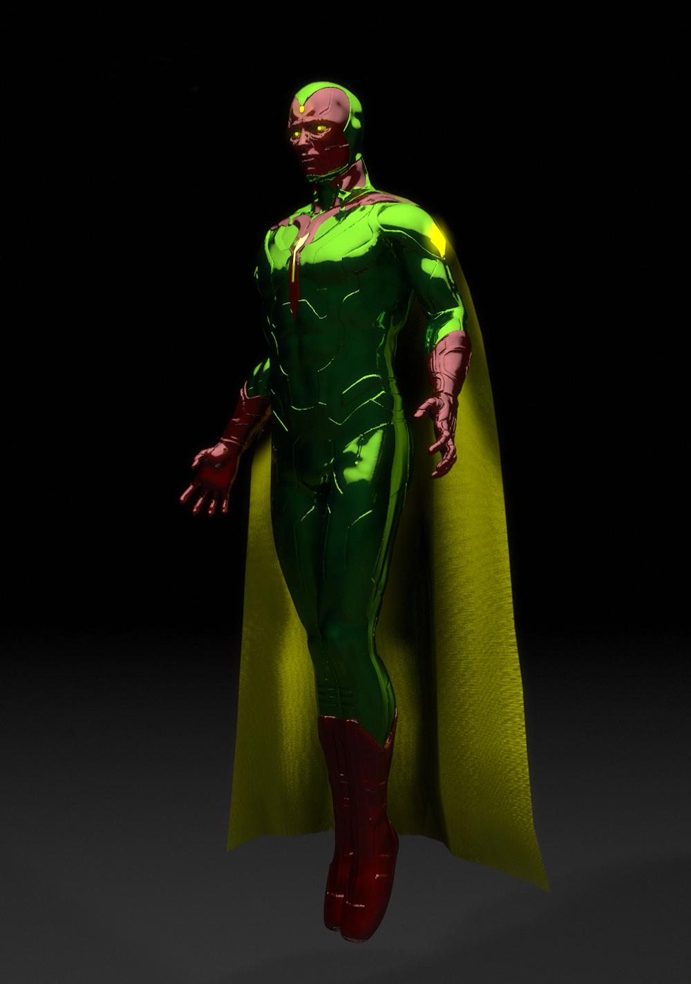 marvel avengers  the vision